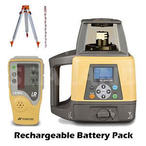 Topcon RL-200 2S Dual Grade Rotating Laser Kit - Machine Control Compatible
