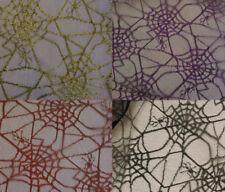 Telas y tejidos encajes de poliéster para costura y mercería