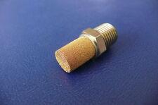 """New Swagelok Carbon Steel Muffler / Filter S-PBKM4 1/4"""" mnpt"""