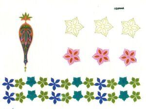 Temporary Tattoo, Karma Tattoos PS02-9727TT, Sterne