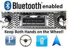 Bluetooth Enabled 1955 Chevy 150 & 210 300 watt AM FM Stereo Radio iPod, USB