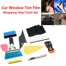 Car Trucks Window Tint Film Wrapping Vinyl Tool Squeegee Scraper Applicator Kit