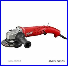 "New Milwaukee 6121-31A 5"" Small Angle Grinder Trigger Grip 11 Amp AC/DC No-Lock"