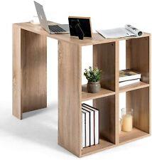 Winkelschreibtisch Ecktisch L-förmiger Schreibtisch mit Bücherregal Bürotisch