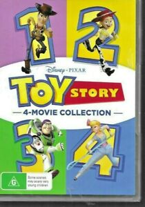 TOY STORY 1-4 Box Set DVD (FOUR MIOVIE COLLECTION)