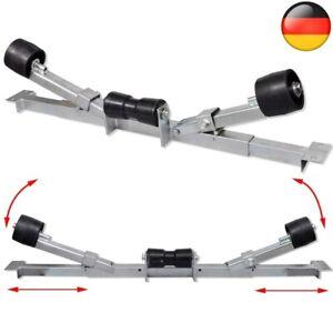 2x Sliprollen 59-84cm Einstellbar Pendel Bootstrailer Sliphilfe Bootsanhänger