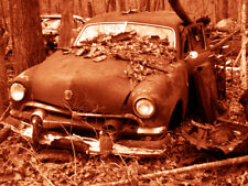 """Abandoned Junk Cars Collection #3 - Canvas Art Poster 18"""" x 24"""""""