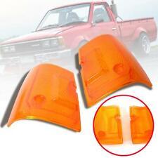 Front Corner Lamp Signal Light Lens For Nissan Datsun 720 J18 Pickup 1980-86