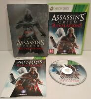 Assassin's Creed Revelations jeu XBOX 360 PAL Complet Très bon état + Steelbook