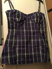 ASOS, NEW Ladies Summer/Party Checked TOP ,  size 10