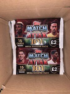 Match Attax 101 18/29 -24 Packs £2 Packs 15 Card Per Packet