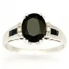 Handmade Oval Sapphire Not Enhanced Fine Gemstone Rings