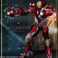 SCALA 1/6 TOYS HOT IRON MAN 3 MARK XXXV RED SNAPPER Figura da collezione