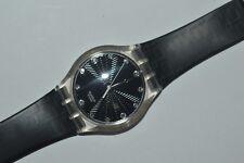 Vintage 2007 Swatch Watch Jelly In Jelly SUK128 DARK BEAUTY Unisex Swiss Quartz