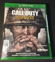Call of Duty WWII [ COD World War 2 ] (XBOX ONE) NEW
