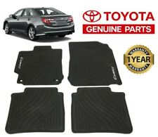 Toyota Camry 2012 14 All Weather Rubber Floor Mats Genuine Pt908 03120 20