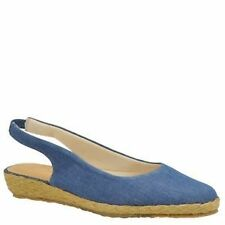 """Low 3/4"""" to 1 1/2"""" Women's Canvas Sandals and Flip Flops"""