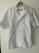 Chefwear Size S White Long Sleeve Chef Coat Uniform Jacket-2 Hat-2 Apron