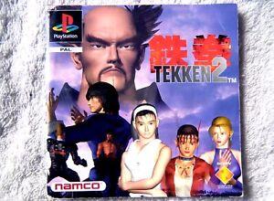 74372 Instruction Booklet - Tekken 2 - Sony PS1 Playstation 1 (1996) SCES 00255