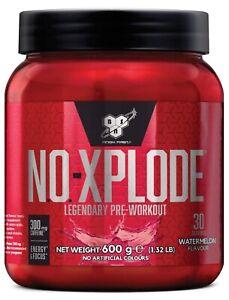 BSN NO-Xplode 3.0 N.O Pre-Workout Igniter 600g 30 Servings Nitrix Oxide Watermel