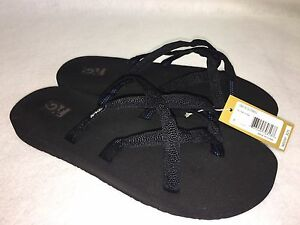 Teva Olowahu Mush Flip Flops Sandals Women's Thongs Multiple Colors 6840 B NEW