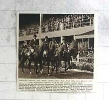 1954 British Team Win Aga Khan Cup Dublin Horse Show
