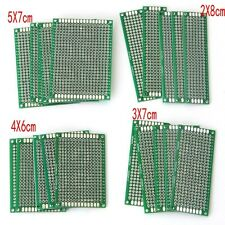 20Pcs Double-Side Prototype PCB Panel Breadboard Universal 4 Different Size NEW