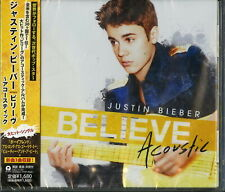 JUSTIN BIEBER-BELIEVE - ACOUSTIC-JAPAN CD BONUS TRACK D20