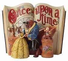 Disney Traditions Love Endure Belle et la Bête Livre d'histoires Figurine
