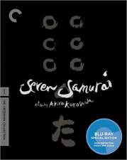 CRITERION COLLECTION: SEVEN SAMURAI (2 disc) - BLU RAY - Region A - Sealed