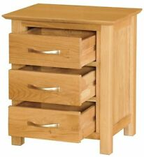 Oak Contemporary 56cm-60cm Height Bedside Tables & Cabinets