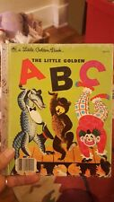 LITTLE GOLDEN BOOK - THE LITTLE GOLDEN ABC - 1951 Copyright