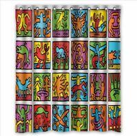 Keith Haring DJ Custom Bathroom Shower Curtain 60x72 Inches