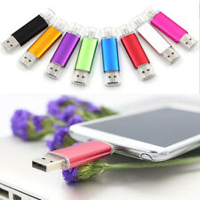 8G Flash Drive 2 in 1 Micro USB Adapter cellphone Phone USB Pen Drive Nice