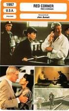 FICHE CINEMA : RED CORNER - Gere,Ling,Whitford,Avnet 1997