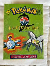 Pokemon Lightning Bug Base Set 2 Theme Deck Opened Box SEALED CARDS