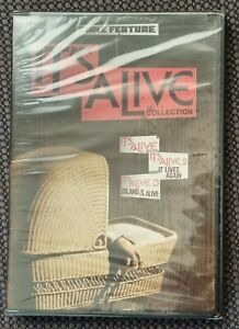 IT'S ALIVE Collection 70s/80s Horror WARNER 2x DVD R1 Larry Cohen NEW/Sealed