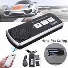 Speakerphone Bluetooth Wireless Multipoint Handsfree Speaker Kit Car Auto US