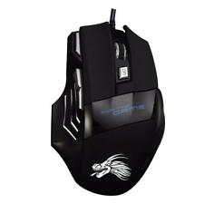 Professional 7 Button Mice 5500DPI USB Optical Wired Game Mouse For PC Laptop TR