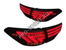 LED Tail Lights Toyota Highlander Rear Lamps Smoke 2014-2015 pair