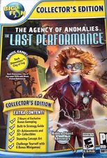 The Agency Of Anomalies The Last Performance CE PC Games Windows 10 8 7 XP NEW