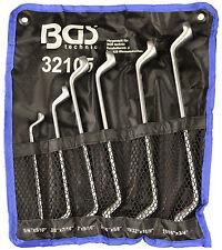 Serie 12 llaves doble Polig. curva 75 pulgadas Código Bgs32105 BGS