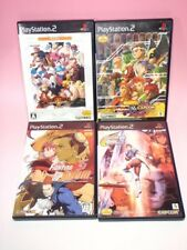 Used PS2 Fighting 4games SET MARVEL CAPCOM SNK 2 STREET Fighter 3 Jam from Japan
