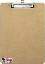 Officemate Recycled Wood Clipboard, Letter Size, Low Profile Clip, 9 x 12.5 Inch
