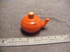 Vintage Avon Orange Small Tea Pot , missing Cap, see pictures