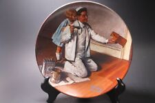 The Painter Norman Rockwell Plate by Knowles Rockwell Heritage Collection ©1983