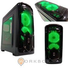 CASE CORTEK GAMING MicroATX CORTEK GRAVITY COLORE NERO VENTOLE VERDI USB 3.0