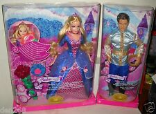 #6723 RARE NRFB Mattel Foreign Fairy Tale Sleeping Beauty Barbie & Prince Ken