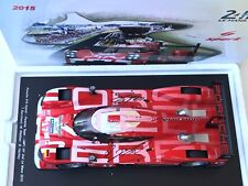 2015 PORSCHE 919 LEMANS CAR ,2ND PLACE, SIGNED BY WEBBER,BERNHARD,1/18 SPARK ,