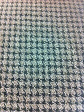 TAUPE PLAID WOOL FABRIC ONE YARD/SEWING SUITING FABRIC/SUITABLE FOR  JACKETS